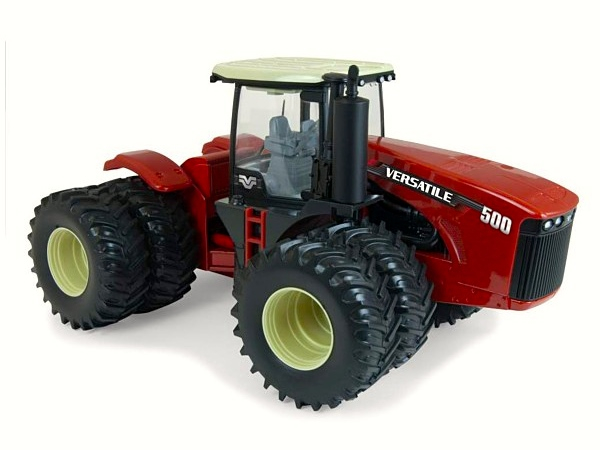 Versatile collectible toy tractor
