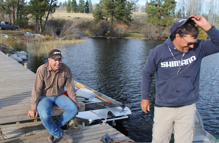 Jim O'Connor, owner of 7 1/2 Diamond Ranch near Merritt, B.C. now enjoys guest ranching.