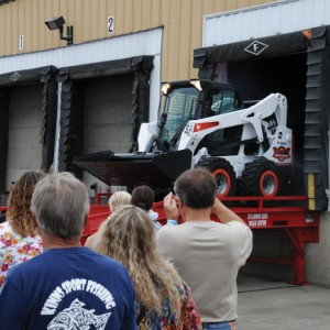On July 12, 2014, the one- millionth Bobcat skid steer loader rolled out the factory doors in North Dakota.