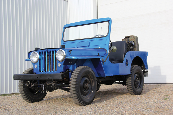 Jeep restoration project