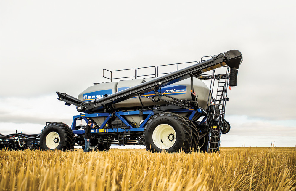 New Holland has also released a version of the new air carts, calling theirs the P Series.