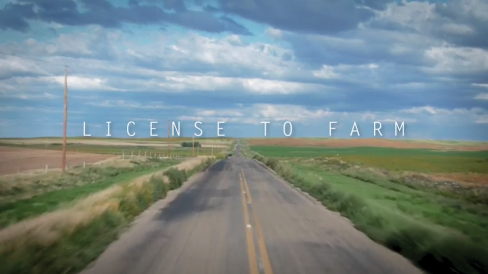 License to Farm is a full-length film produced by SaskCanola. The goal of the film is to inspire farmers to start talking to consumers.