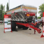 Salford introduced a prototype 20 ton air boom spreader during Canada's Farm Progress Show in Regina in June.