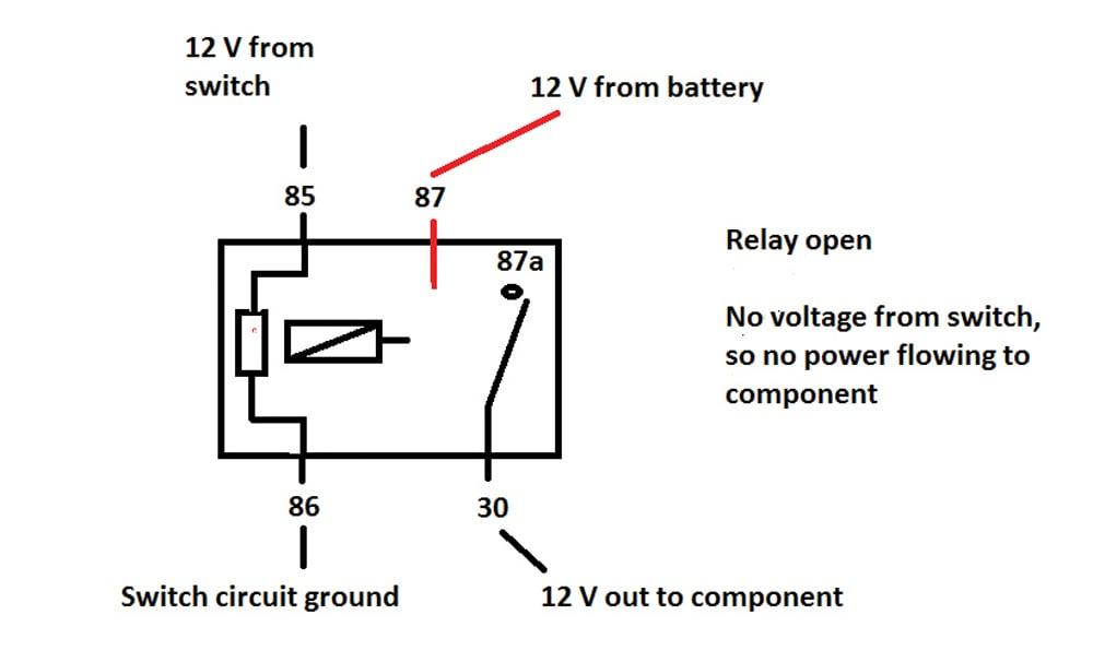 5 Pin Relay Wiring Diagram Compressor