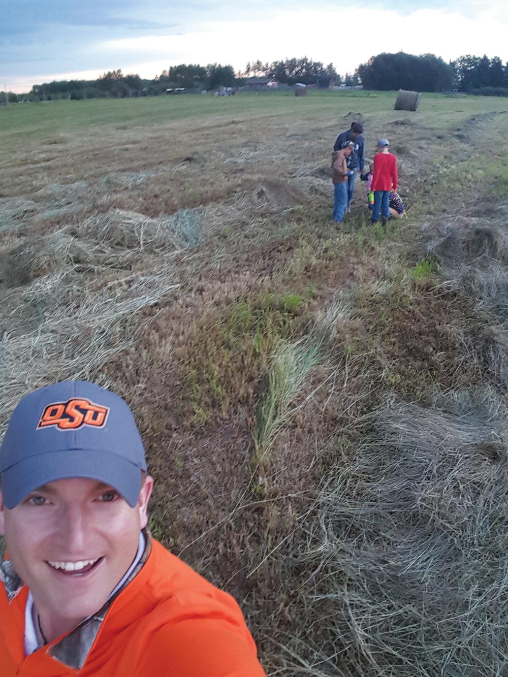 Dave Brand farms alongside his family near Red Deer, Alta.