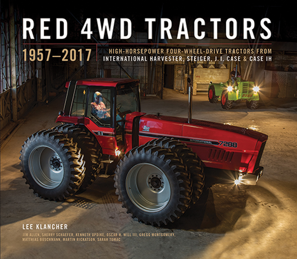 Red 4WD Tractors, 1957 – 2017 is a detailed history