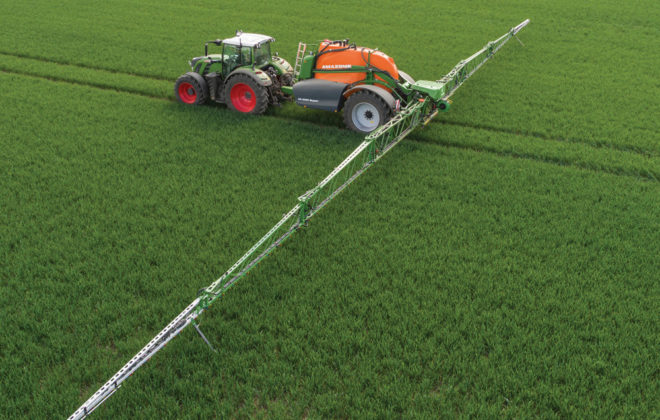 Amazone sprayers go high tech