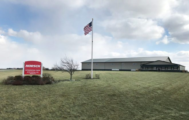 Horsch's new Agro Innovation Center is located at Downs, Illinois.