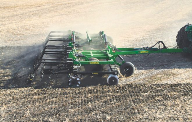 "Summers Manufacturing calls its VRT2530 a ""variable rate"" tillage tool."