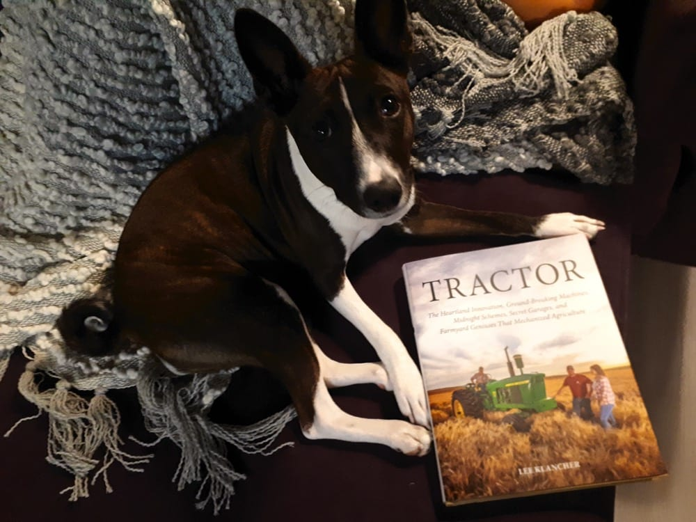 "Dixie says, ""enter to win this book!"""