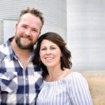 Jordan and Jennifer Lindgren, OYF Saskatchewan regional finalists with family-run large grain farming operation.