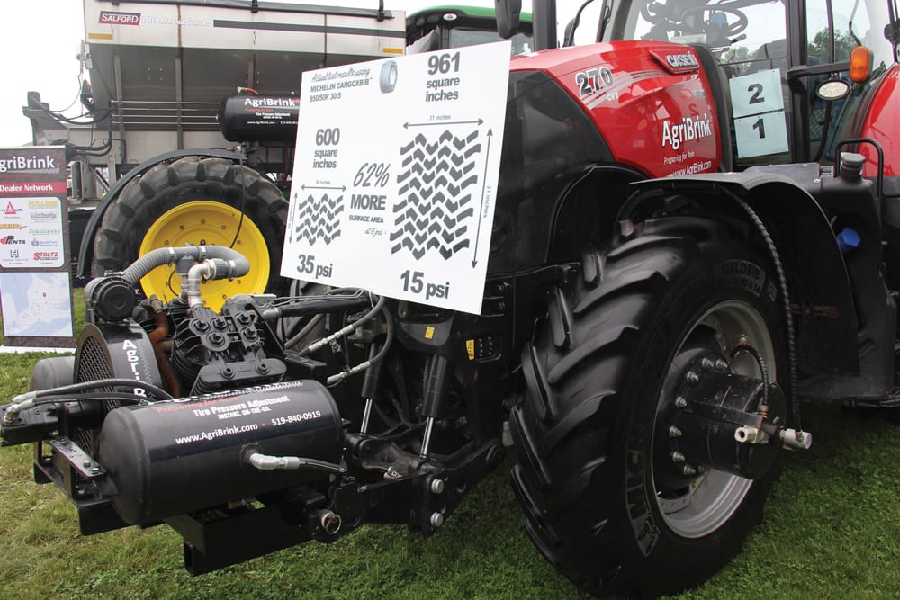 Canadian manufacturer AgriBrink has introduced an aftermarket auto tire inflation system for ag tractors and equipment.