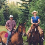 Tyler MacNaughton and Sacha Bentall, OYF B.C. regional finalists, producing pasture-to-plate livestock.