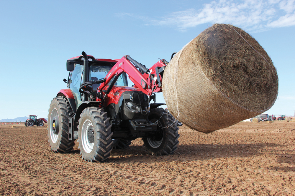 Grainews test-drove the Maxxum in the field to evaluate the new 