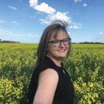 Pam Bailey, chair and co-founder of Ag Women Manitoba farms with her husband and in-laws in Dacotah, Manitoba and is also a director with Manitoba Canola Growers.