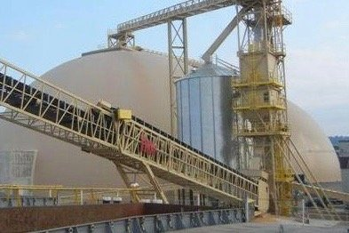 Parrish and Heimbecker's domed grain terminal at Hamilton, in 2011. (ParrishandHeimbecker.com)