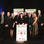 Canada's Outstanding Young Farmers and program sponsors, from left 