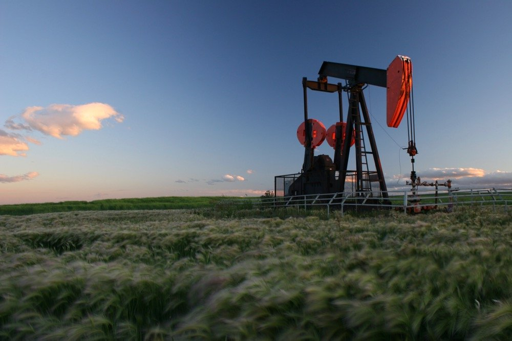 File photo of a pumpjack in an Alberta field. (ImagineGolf/E+/Getty Images)