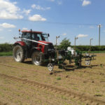 The Robocrop Spot Sprayer can distinguish clumps of weeds in a minimum target area of 40 millimetres.