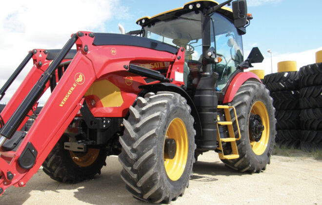 Versatile introduced the three-model Nemesis tractor line to the public in 2019.