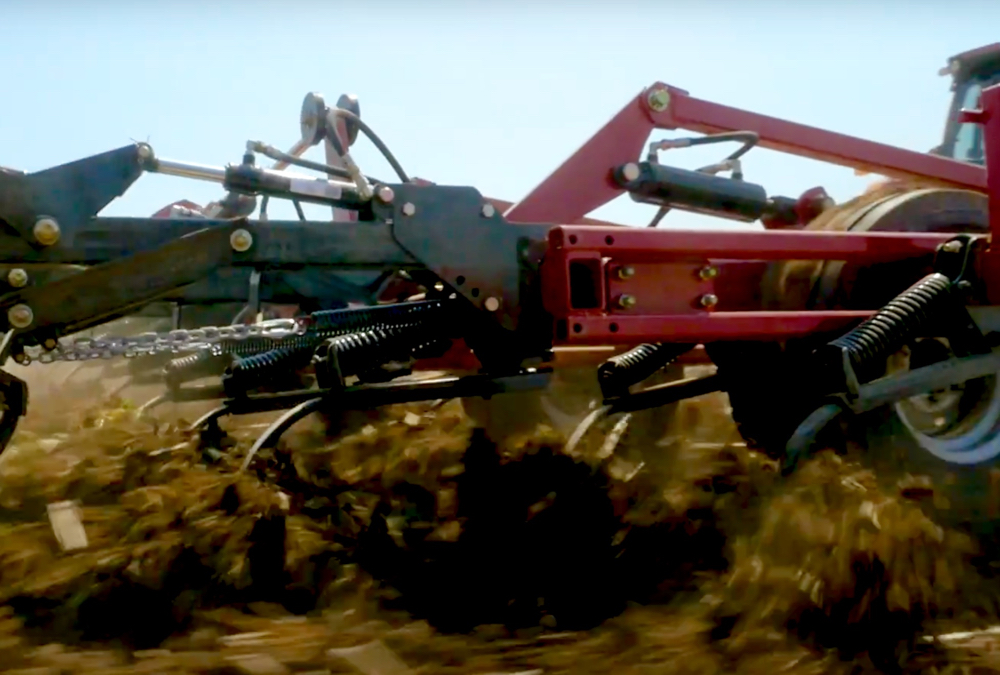 """For a long time, producers have been using automation and ECUs to control their application pieces. We're starting to see that come into the tillage units now."" – Kris Wright."