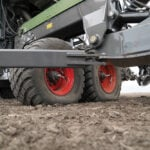 High tire inflation pressures stunt plant development