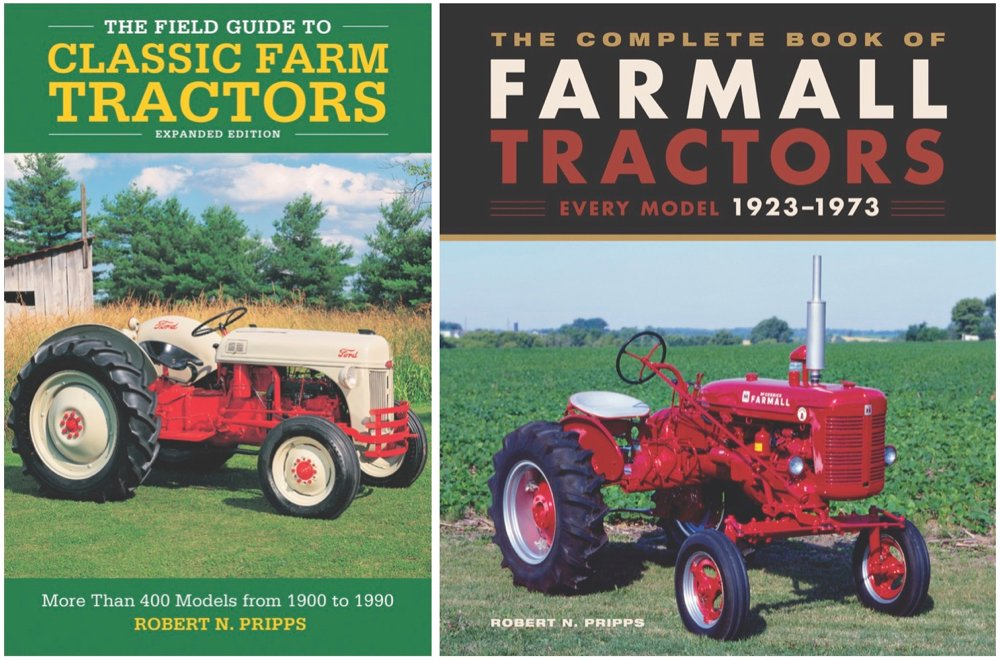 Two new books for tractor enthusiasts
