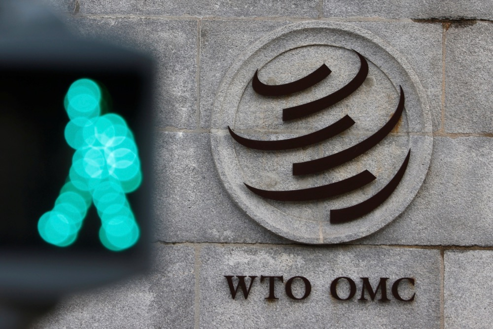 The World Trade Organization (WTO) headquarters in Geneva, Switzerland on Oct. 28, 2020. (Photo: Reuters/Denis Balibouse)
