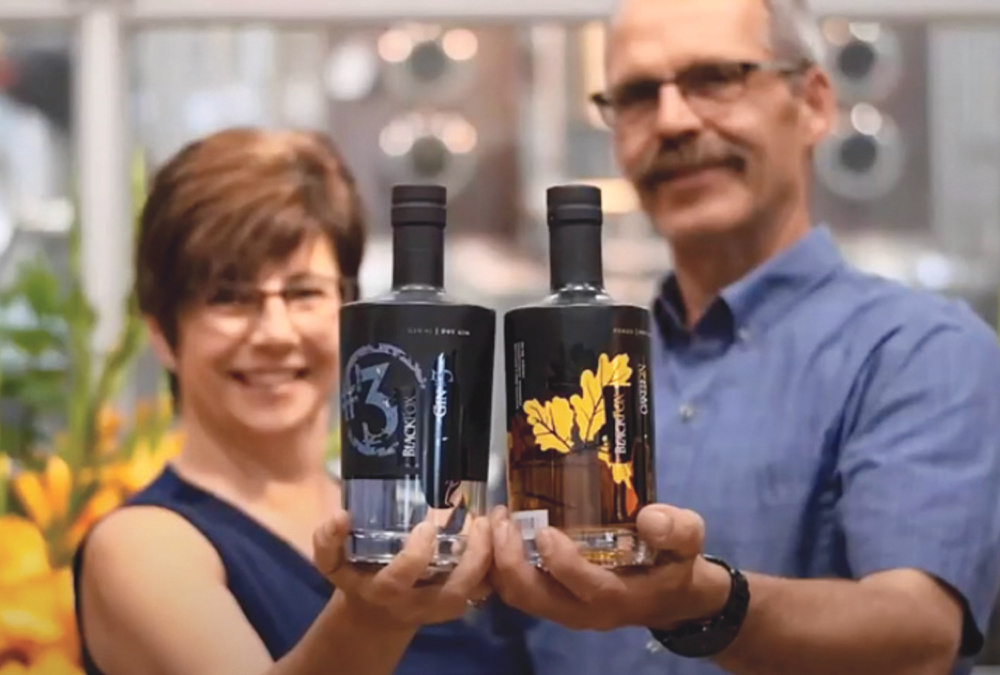 About six years ago, Barb Stefanyshyn-Cote and John Cote decided to take the farm business in a whole new direction. They bought an 80-acre parcel of land near Saskatoon where they built a distillery and now grow flowers.