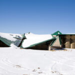Watch snow loads on farm buildings this winter