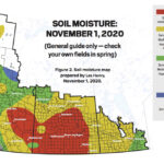 Les Henry: Soil moisture map for 2021