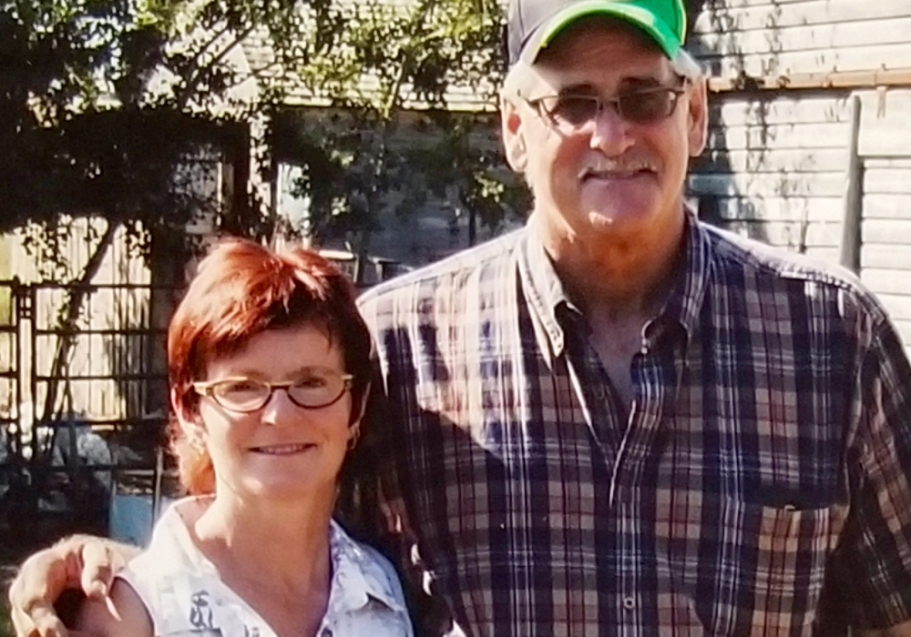 Garry and Geri Johnson have been using organic farming practices on their farm near Swift Current, Sask., for more than 20 years.