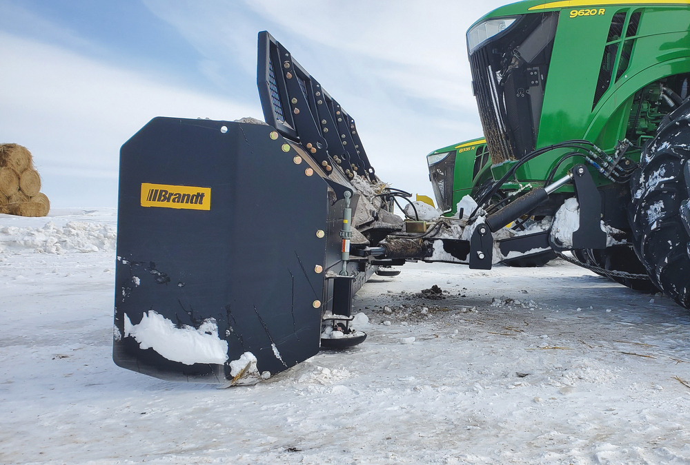 New ag dozer blade from Brandt