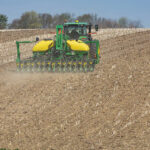 The CCS option features a 50-bushel central fill seed delivery system.