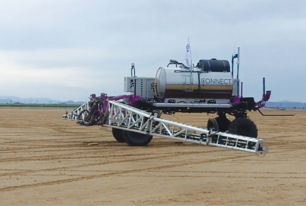 In early 2019, the DOT Power Platform, now owned by Raven Technologies, was shown to a group of producers and manufacturers' representatives at a demonstration day in Arizona.