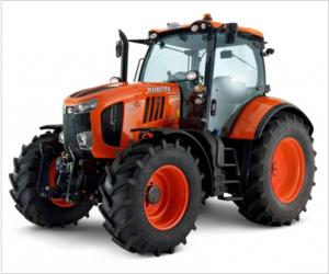 Kubota's M7 Series tractors now push the maximum horsepower rating of the orange tractors to 170