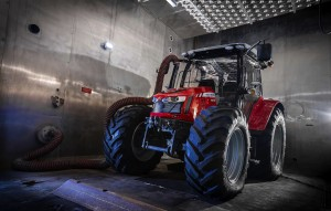 To prepare it for the extreme cold, the MF 5610 spent several hours in a cold weather chamber and in trials in Canada