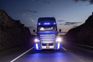 Freightliner's Inspiration autonomous truck operates itself without input from a driver during highway trips