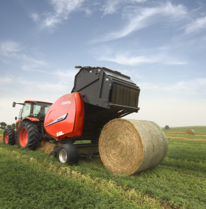 The BV4580 round baler is the first in the orange brand to offer a 5 X 6 bale chamber