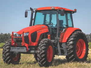 "The M6S-111 is a new ""economy"" model from Kubota"